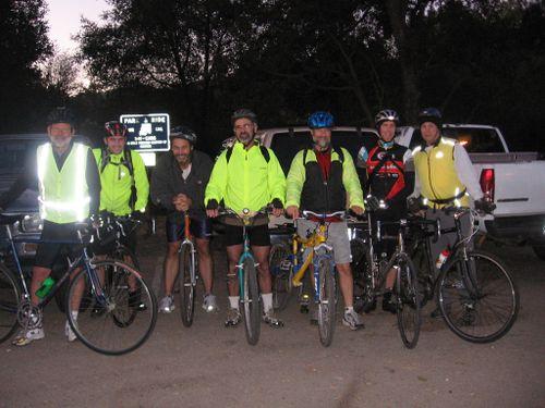 Riders ontop the Grade
